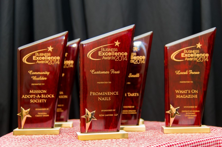Mission Chamber of Commerce Business Excellence Awards 2014