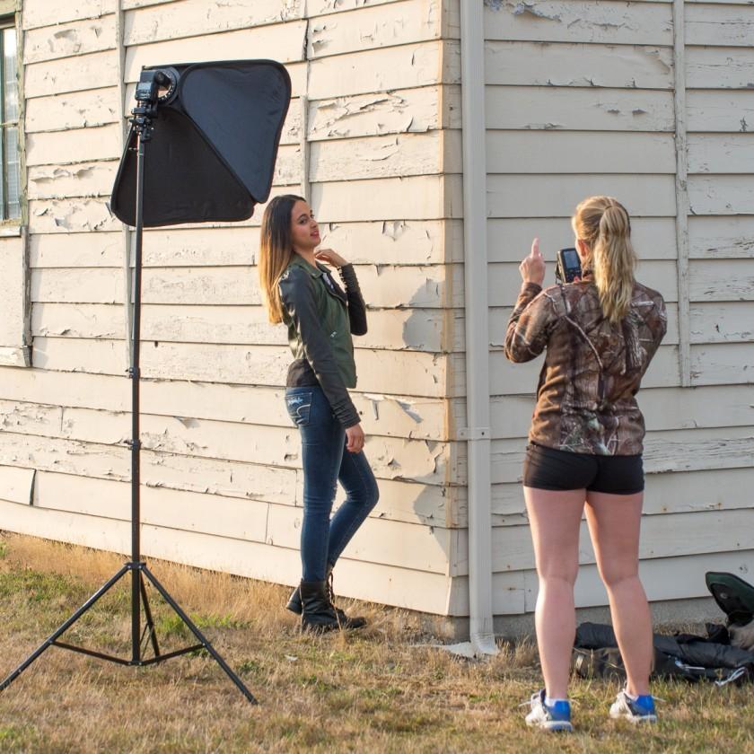 Aleshia Mund Behind The Scenes