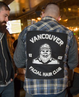 Beard Portraits at the Vancouver Facial Hair Club Movember Stache Bash