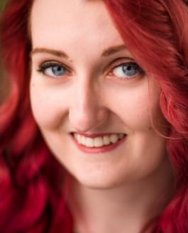 Amy's New Hair Colour Headshots