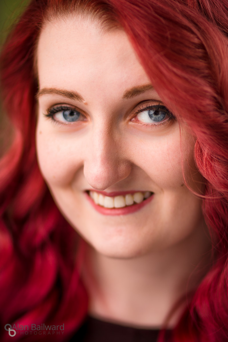 Amy's New Hair Colour Headshots