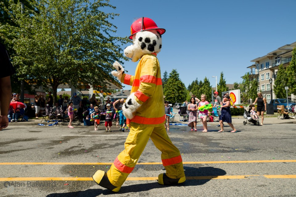 Pitt Meadows Day Parade 2016