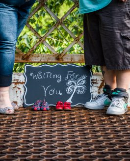 Adoption Announcement Photography – Alexandra Bridge, Fraser Canyon