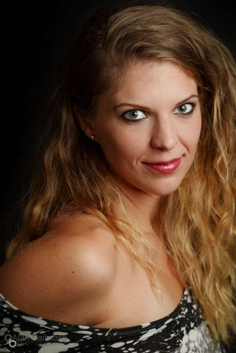 Brittnie Rae actress headshot photography