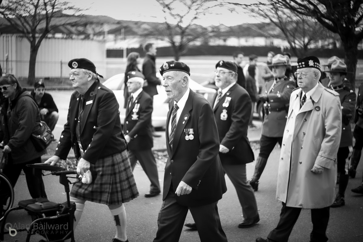 remembrance day parade and events in mission bc